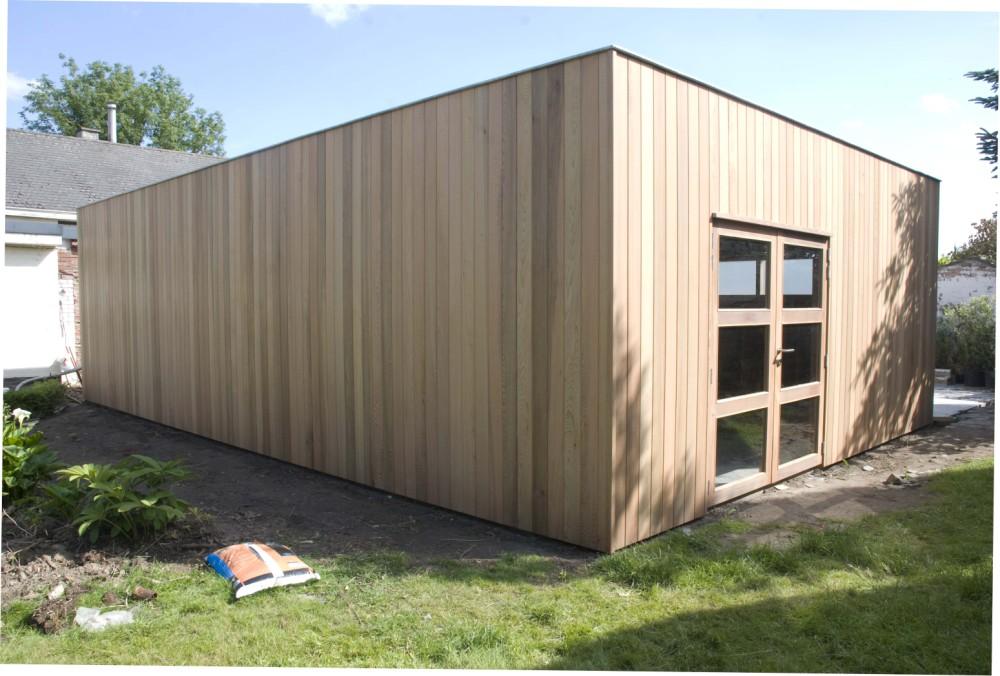 Abris de Jardin Modern - Daniel Decadt - Houten Constructies ...