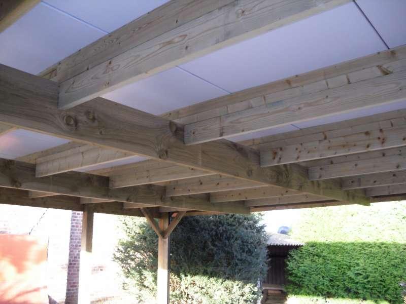 Carport aanbouw hout - Daniel Decadt - Houten Constructies ...