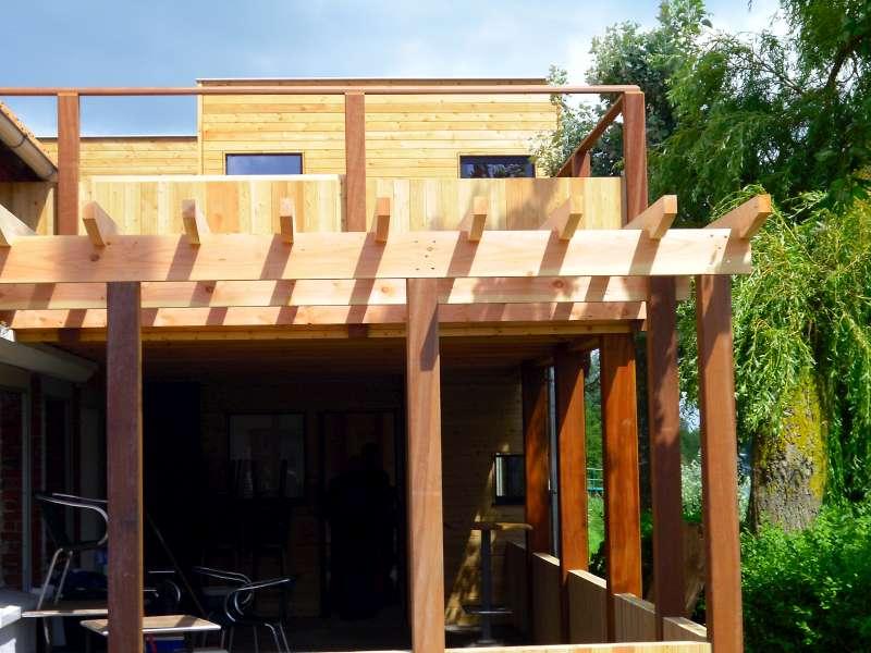 chalets habitable daniel decadt houten constructies houthandel proven. Black Bedroom Furniture Sets. Home Design Ideas