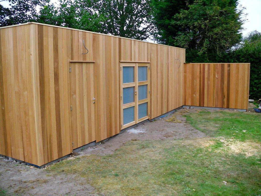 tuinhuis kubus modern daniel decadt houten constructies houthandel proven. Black Bedroom Furniture Sets. Home Design Ideas